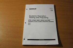 CAT 279C 279C2 289C 289C2 299C SYSTEM OPERATION TESTING ADJUSTING SERVICE MANUAL