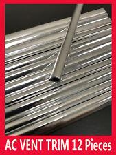 12 pcs AC VENT TRIM INTERIOR DASH MOLDING KIT/5YR WRNTY (FIAT09-17)