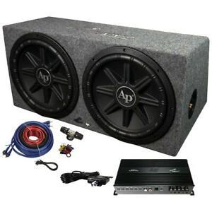 Audiopipe APSB12212PX Bass Package - w/APMCRO18002xTSPX1250 in Sealed Box