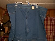 TERRA AND SKY MID RISE LADIES DENIM SHORTS SIZE 4XL 28W-30W RELAXED FIT 2 POCKET