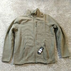 New UNDER ARMOUR UA SPECIALIST 2.0 Polartec Jacket Sweater 1316264 Olive 2XL