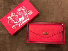 Genuine Sanrio My Melody - Pink - Long Wallet Purse Bag - Japan - BNIB