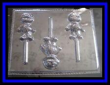 Oscar the Grouch Sesame Street Chocolate Lollipop Candy Mold #258