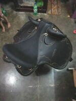 Australian Stock Saddle without horn Synthetic Black all sizes Available 2019