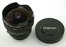 CANON FD 2,8/15 15 15mm F2,8 2,8 Fisheye premium adapt. A7 NEX MFT mint wie neu