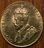 1929 CANADA 5 CENTS - Choice Uncirculated ! Really amazing!