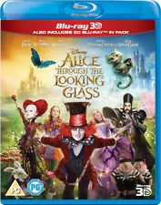 ALICE THROUGH THE LOOKING GLASS [Blu-ray 3D + 2D] Disney 2016 Wonderland Part 2