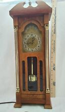 """United Clock Company wall mantle electric Grandfather Clock 20"""" T vintage #444"""