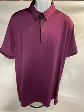 G•MAC Apparel Golf Polo Shirt size XL Purple with Black accents
