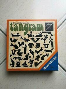 Original Chinapuzzle Tangram von Ravensburger - 1976 - Vintage S