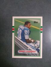 1989 Topps Traded Barry Sanders RC