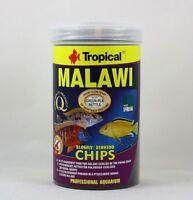 Malawi Chips Tropical 1000ml Zutatenreiches Futter für Malawi Cichliden 14,99€/L