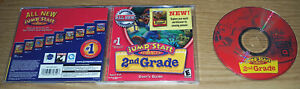 Jump Start Advanced 2nd Grade PC/Computer Software Knowledge Teach Age 6-8 Learn