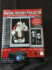 Brand New Mr. Christmas Virtual Holiday Projector Kit Halloween & Xmas ( $99.99)