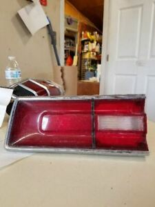 1968 PLYMOUTH FURY II Driver Left Tail Light Fury II Fits 68 PLYMOUTH