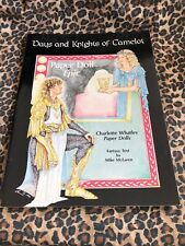 Days And Knights Of Camelot charlotte Wheatley Paper Doll Book Uncut 1990