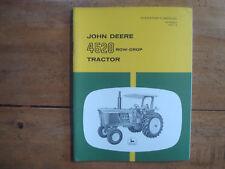 John Deere 4520 Row-Crop Tractor Operator's Manual