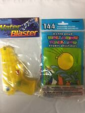6 Inch Water Pistol-Water Gun - toy, free shipping plus 144 count water balloons