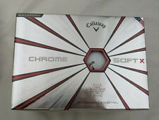 New 6 Dozen Callaway Chrome Soft X Golf Balls - 72 Balls Brand New