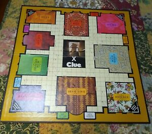 1972 Clue Board Game Replacement Parts Pieces Game Board Only