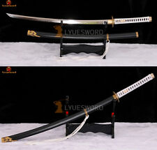 Full Tang Yamato in Devil May Cry Katana Samurai Sword Clay Tempered Sharp Blade