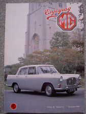 Enjoying MG (Dec 1990) Midget 1500 Clutch Slave Cylinder, MG TD, Farina Magnette