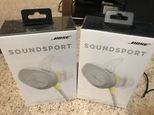 Bose SoundSport Wireless Bluetooth Headphones – Citron. Sealed. Free Fast Ship