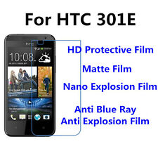 3pcsFor HTC Deaire 301E Matte/Nano Explosion/Anti Blue Ray Screen Protector