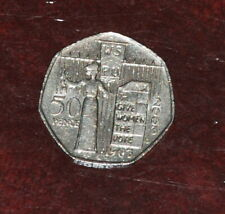 4) GB 2003 Suffragette Votes for Women 50p. Good Circulated.