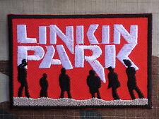 ECUSSON PATCH toppa aufnaher THERMOCOLLANT LINKIN PARK rock musique / 8.2x5.5cm