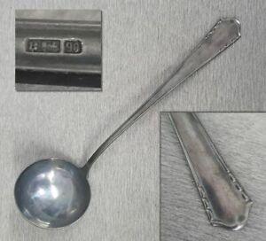 Große Suppenkelle Bruckmann-Eisenbahn 90er Silber-Auflage antik Besteck ALT