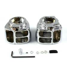 For 1996-2012 Harley Dyna Fat Street Bob Low Rider Chrome Switch Housing Cover