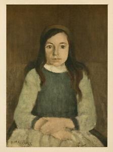 Henri Matisse lithograph printed in 1955 - 4350001