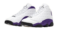 """Jordan Retro 13 """"Lakers"""" White/Black-Court Purple (414571 105)"""