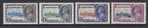 Br. Honduras - SG 143/6 - m/m - 1935 - Silver Jubilee