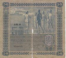 Finland banknote 50 markkaa (1922) Litt. C  P-64