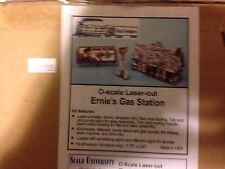 Scale University O Scale Laser Cut Erie's Gas Station #1004A