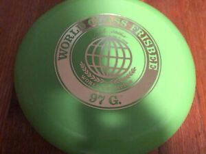 Vintage  Wham- O World Class Champion 97 G Frisbee