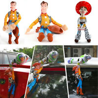 3D Toy Story 4 Sherif Woody And Buzz Car Doll Outside Car Hanging Bedtime Gift