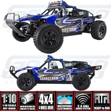 Redcat Sandstorm 1/10 Off Road RC 4WD RTR Electric Baja Buggy Blue w/ Batt /Chgr