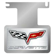 2005 - 2013 Corvette C6 Exhaust Enhancer Plate, C6 Logo and Corvette Writing