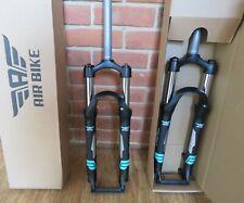 Air Bike XC28 MTB Suspension Fork 27.5 Lockout 100mm Travel 1 1/8  Steerer Black