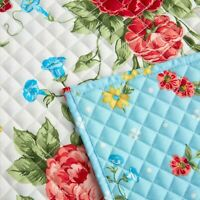 The Pioneer Woman Sweet Rose/Quited Placemats (set of 2) Reversible