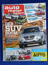 Auto Motor Sport Heft 6/2012 - BMW 335i Mercedes C 350 VW Passat Ford Kia Tesla