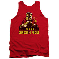 ROCKY IV Ivan Drago I MUST BREAK YOU Licensed Tank Top All Sizes