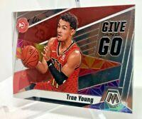 Trae Young - 2019-20 Panini Mosaic Insert Give & Go Card #4 Atlanta Hawks