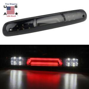 Black Lens For Chevy Silverado 1500/2500/3500 GMC Sierra LED 3RD Brake Light Bar