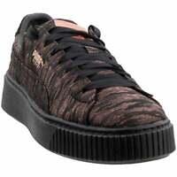 Puma Basket Platform Velvet Rope Platform  Womens  Sneakers Shoes Casual   -