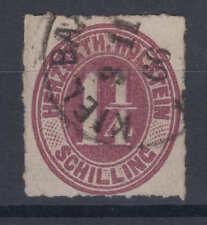 Altdeutschland - Schleswig-Holstein / Holstein - Michel-Nr. 20 gestempelt in TOP