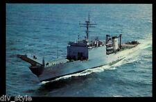 USS San Bernardino LST-1189 postcard  US Navy warship tank landing ship